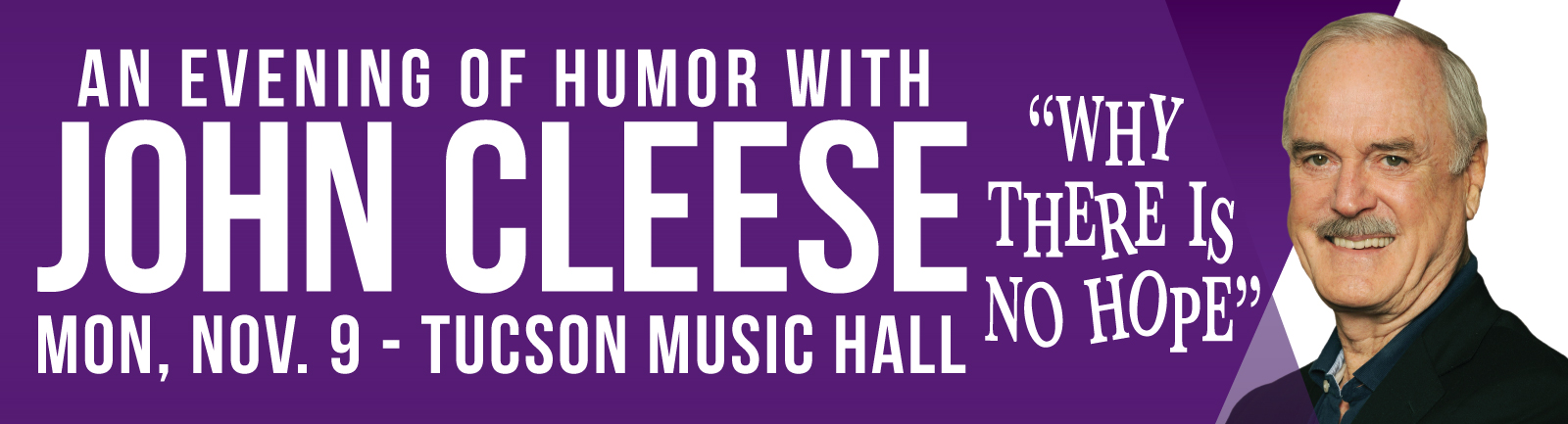 An Evening with John Cleese - Tucson Music Hall